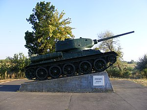 Battle of Debrecen - Battle of Debrecen memorial
