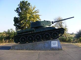 Battle of Debrecen - Battle of Debrecen memorial