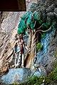 Batu Caves. Stairway to Temple Cave. Statues on the rocks. 2019-12-01 11-01-27.jpg