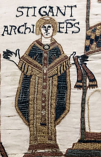 Stigand 11th-century Archbishop of Canterbury