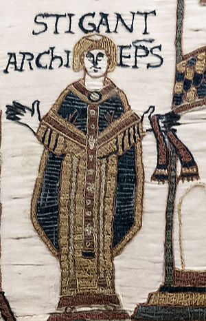Stigand - Stigand from the Bayeux Tapestry