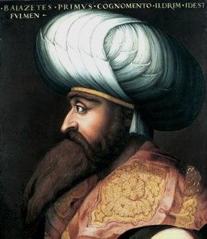 Giovio Series - Image: Bayezid I by Cristofano dell'Altissimo