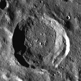 Beals (crater) lunar crater