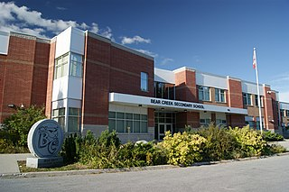 Bear Creek Secondary School Public school in Barrie, Ontario, Canada
