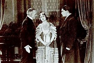 Beau Revel - Still with Lewis Stone, Florence Vidor, and Lloyd Hughes