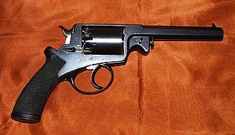 Robert Adams (handgun designer) - A Beaumont–Adams