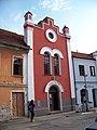 Bechyně, bývalá synagoga - Muzeum turistiky.jpg