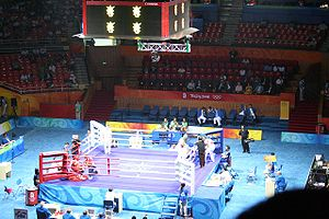 Boxing at the 2008 Summer Olympics - Image: Beijing 2008 Boxing