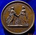 Belgium & Netherlands 1815 Unification Medal, reverse.jpg
