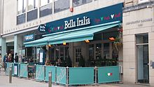 Bella Italia, Briggate, Leeds (30th March 2013).JPG