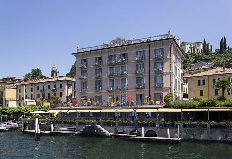 File:Bellagio - Albergo Genazzini & Metropole from Lake Como.jpg