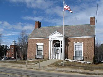 National Register of Historic Places listings in Belknap County, New Hampshire - Image: Belmont Library