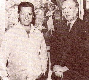 Ben Molar - Molar with the Argentine writer Jorge Luis Borges