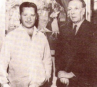 Ben Molar - Molar with the Argentine writer Jorge Luis Borges