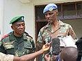 Beni, Nord Kivu, RD Congo - Le Commandant de la Force de la MONUSCO a rendu une visite de travail le mardi 05 avril 2016, au Commandant de l'opération SOKOLA I à Beni.jpg