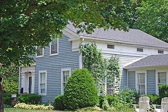 National Register of Historic Places listings in Genesee County, Michigan - Image: Benjamin Bangs House Fenton MI