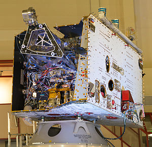 BepiColombo - Mercury Planetary Orbiter in ESTEC before stacking