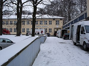 Berg Upper Secondary School - The school was used during the filming of Dag Solstad's Gymnaslærer Pedersen