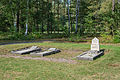 Bergen-Belsen concentration camp memorial - representative graves - 01.jpg