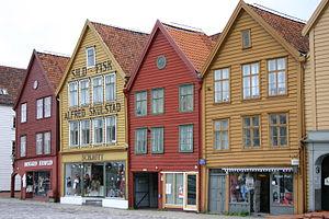 Bryggen - Image: Bergen