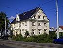 Gebäude 1 (Nr. 130d) und 2 (Nr. 130a–c) des Packhofs der Cottbuser-Schwielochsee-Pferdeeisenbahn