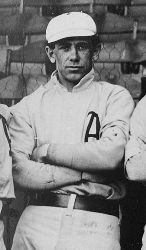 Bert Husting - Bert Husting with the Philadelphia Athletics in 1902.