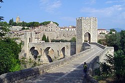 Skyline of Besalú
