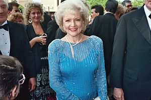 Betty White at the 1988 Emmy Awards.
