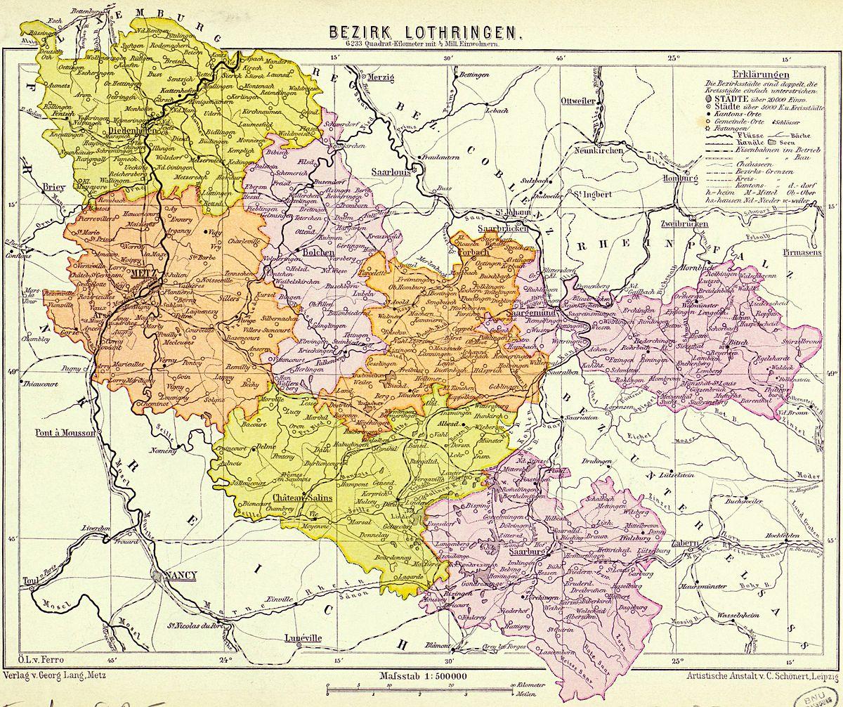 Bezirk Lothringen - Wikipedia