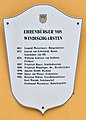 Bezirksgericht Windischgarsten, commemorative plaque 5 - honorary citizens 1.jpg