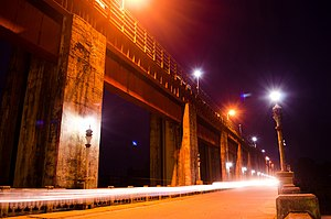 Bhoothathankettu - Night view of Bhooththankettu Dam