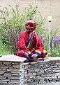 Bhutanese clown, Paro.jpg
