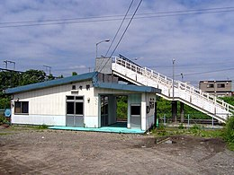 Bibi Station in Chitose Line.jpg