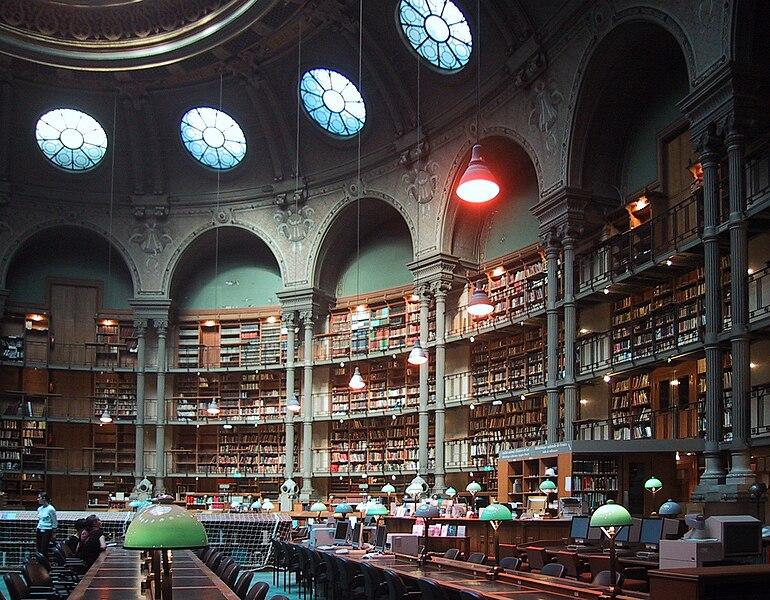 File:Bibliothèque nationale de France, site Richelieu (salle ovale).jpg
