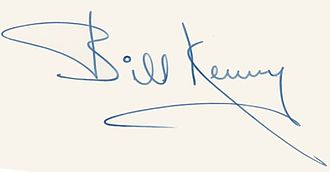 Bill Kenny (singer) - Signature.
