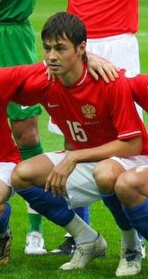 Diniyar Bilyaletdinov - Diniyar Bilyaletdinov before home match against FYR Macedonia