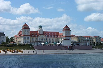 Province of Pomerania (1815–1945) - Binz, tourist resort since the 1860s