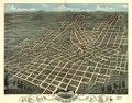 Birds eye view of the city of Atlanta, the capitol of Georgia 1871. LOC 73693339.tif