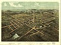 Birds eye view of the city of Hillsdale, Hillsdale Co., Mich. 1866. LOC 73693429.jpg