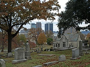 Birmingham skyline from Oak Hill Cemetery Nov 2011.jpg