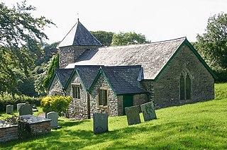 Bittadon village in the United Kingdom