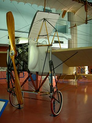 Tryggve Gran - Blériot XI-2, the type flown by Gran