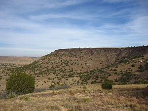 Cimarron County, Oklahoma - Black Mesa, the highest point in Oklahoma, is in the northwestern corner of Cimarron County.