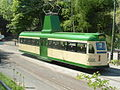"Blackpool ""Brush Railcoach"" Tram No.630, National Tramway Museum, Crich, Derbyshire.JPG"