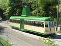"Blackpool ""Brush Railcoach"" Tram No.630, National Tramway Museum, Crich, Derbyshire.JPG"