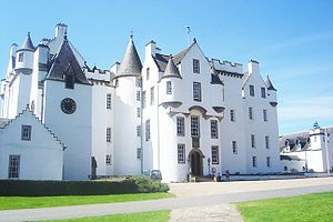 Clan Murray - Blair Castle, seat of the Duke of Atholl, chief of Clan Murray, since 1629.