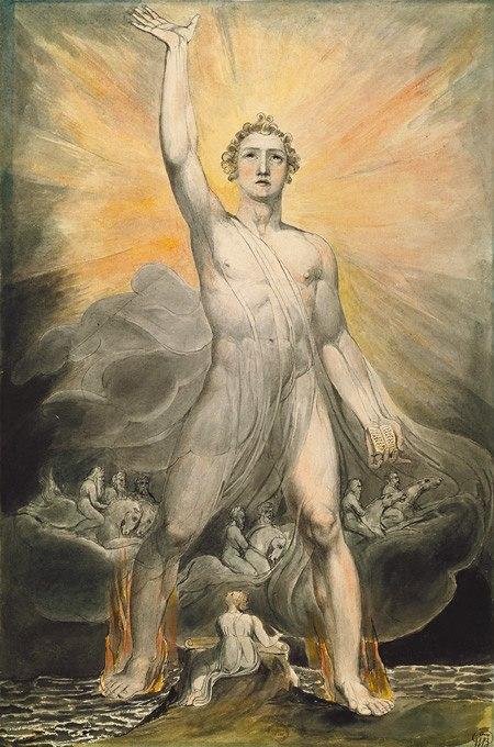 Blake - angel of revelation