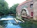 Blendecques (Pas-de-Calais, Fr) le moulin Snick, sur l'Aa (02).JPG