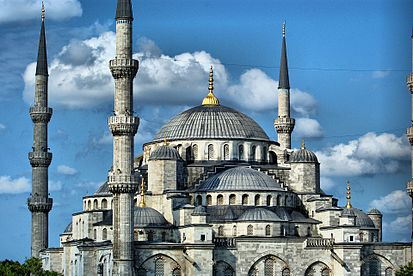 The Sultan Ahmed Mosque Blue Mosque.jpg