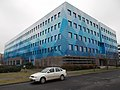 Blue cube office building, 2018 Angyalföld.jpg